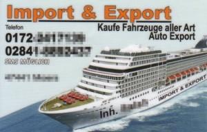 4-Sterne-Autoexport