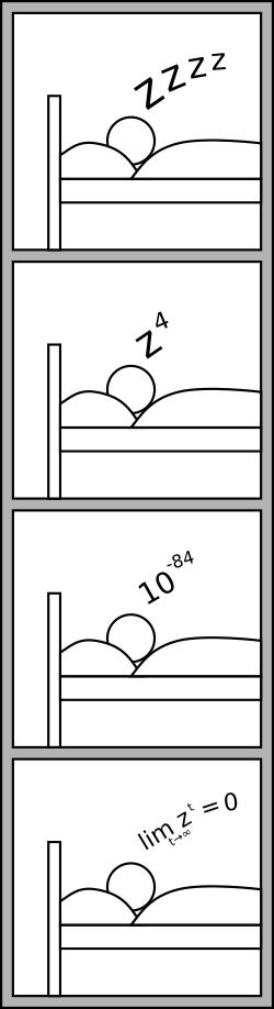 Lange schlafen, führt zu nichts.